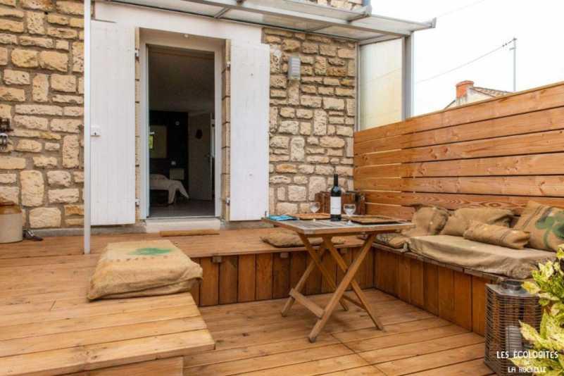 EcoloGite terrasse idéal pour couple
