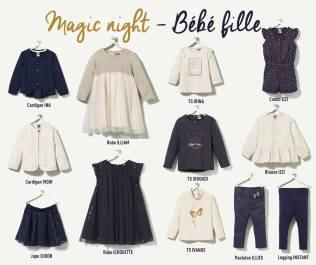 Collection TAO Magic Night bébé fille