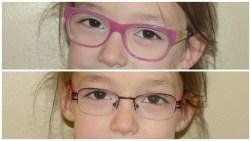 Les nouvelles lunettes de Tycia