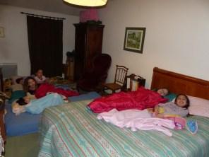 A 6 dans la même chambre c'est la fête !!!