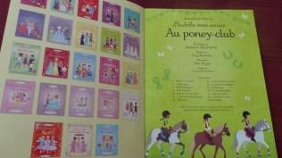 Cahier activité J'habille mes amies - Au Poney Club - Editions Usborne