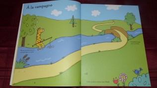 Cahier activité Coloriages et Autocollants Les Vacances - Editions Usborne