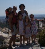 En haut des Baux de Provence