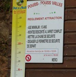 Panneau affichage consignes de sécurité