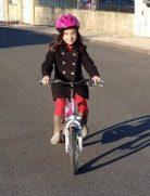 Tour de vélo avec Minouchette ♥