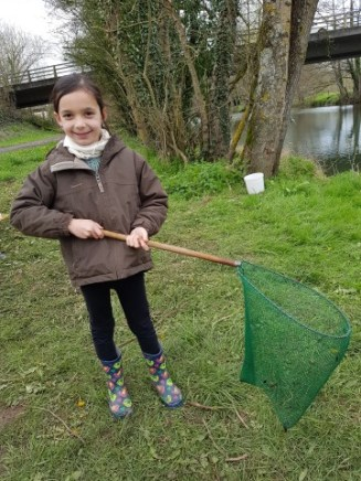 Ma petit pêcheuse