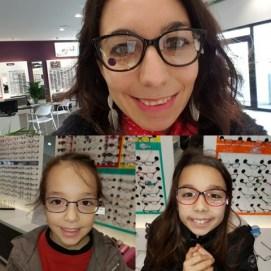 Essayage de lunettes