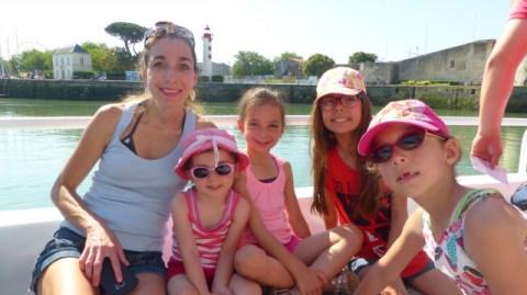 Sur le bateau pour l'Ile d'Aix