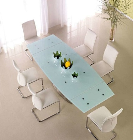 top tables extensibles en verre en mars