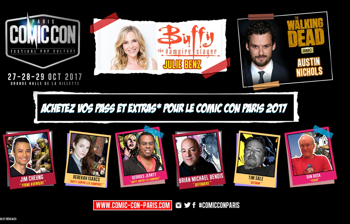 comic con paris 2017 commence d voiler son programme le s rigraphe. Black Bedroom Furniture Sets. Home Design Ideas