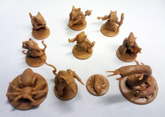 Quelques figurines