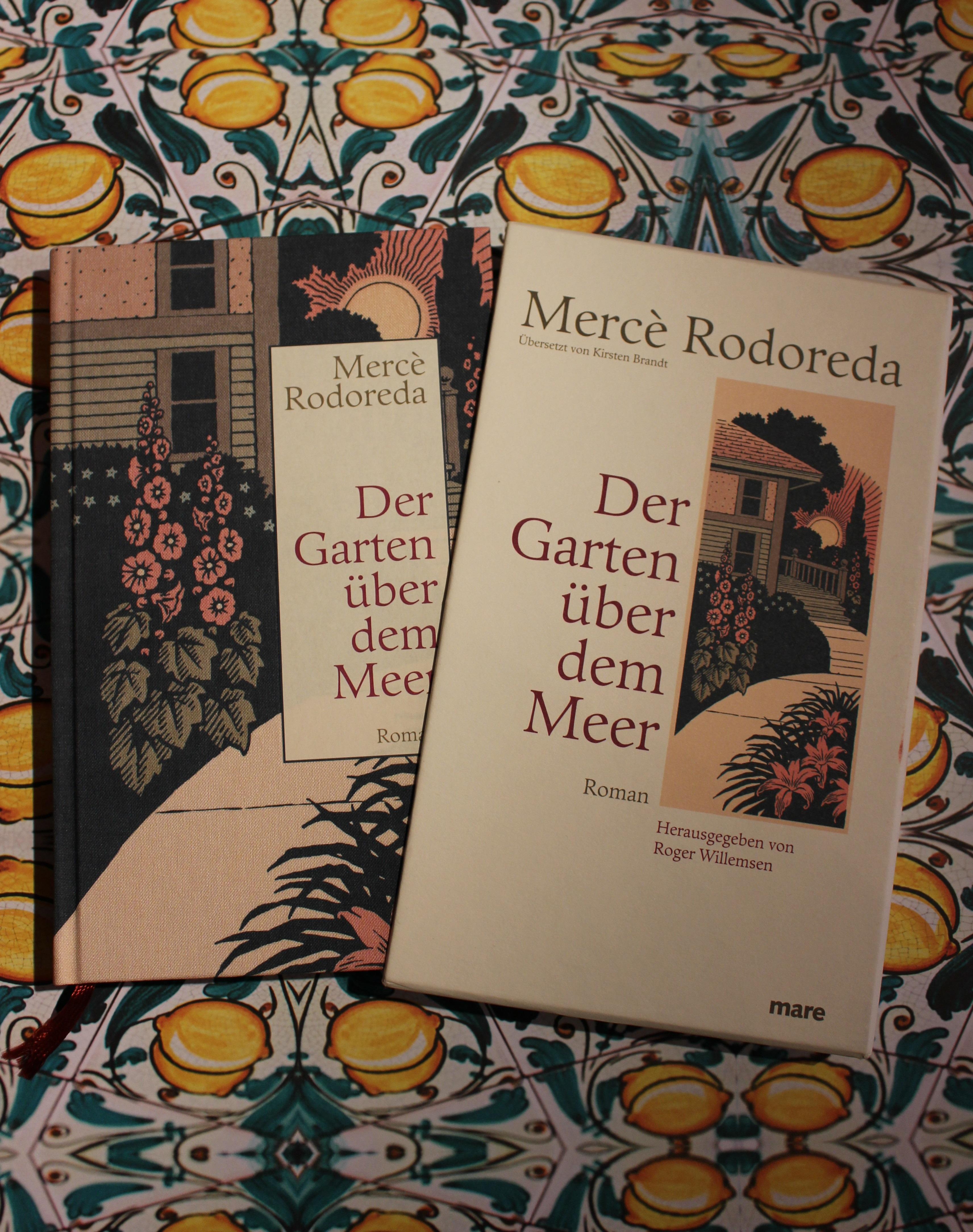 """Mercè Rodoredas """"Der Garten über Dem Meer"""" Leseschatz"""