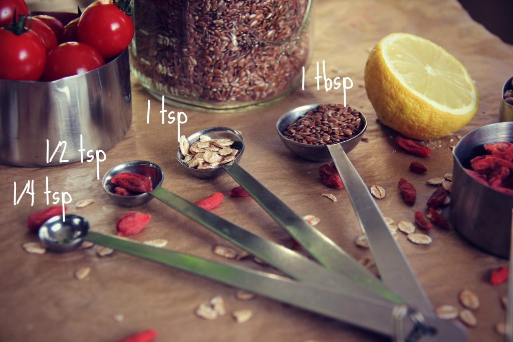 Les Mesures Anglaises Teaspoons Tablespoons Amp Cups