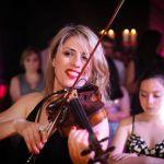 Violoniste russe klezmer Estelle Goldfarb