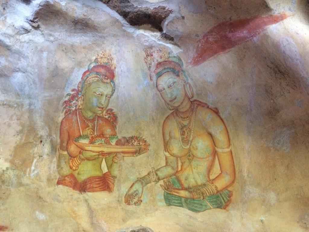 sigiriya-peinture-rocher-sri-lanka