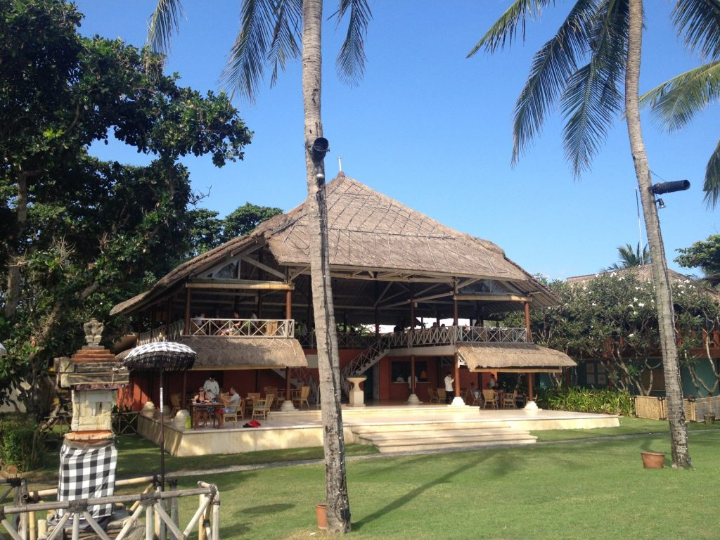 restaurant la lucciloa à seminyak à l'ouest de ubud