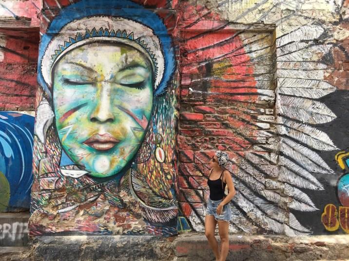 street art à carthagène
