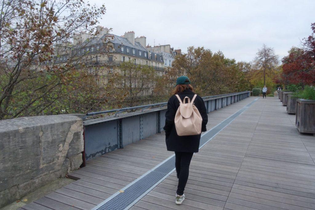 Coulée verte paris automne