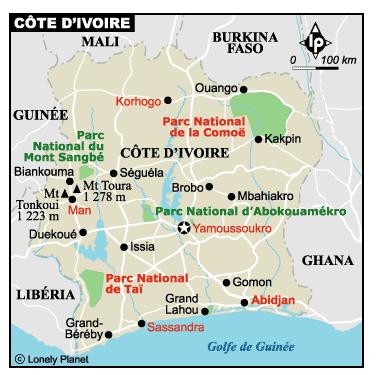 carte-cote-d'ivoire