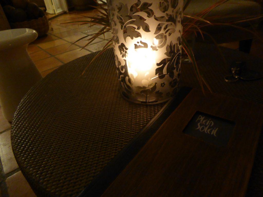 Bar hôtel plein soleil