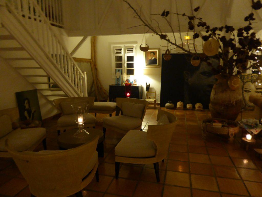 Hôtel plein soleil soir