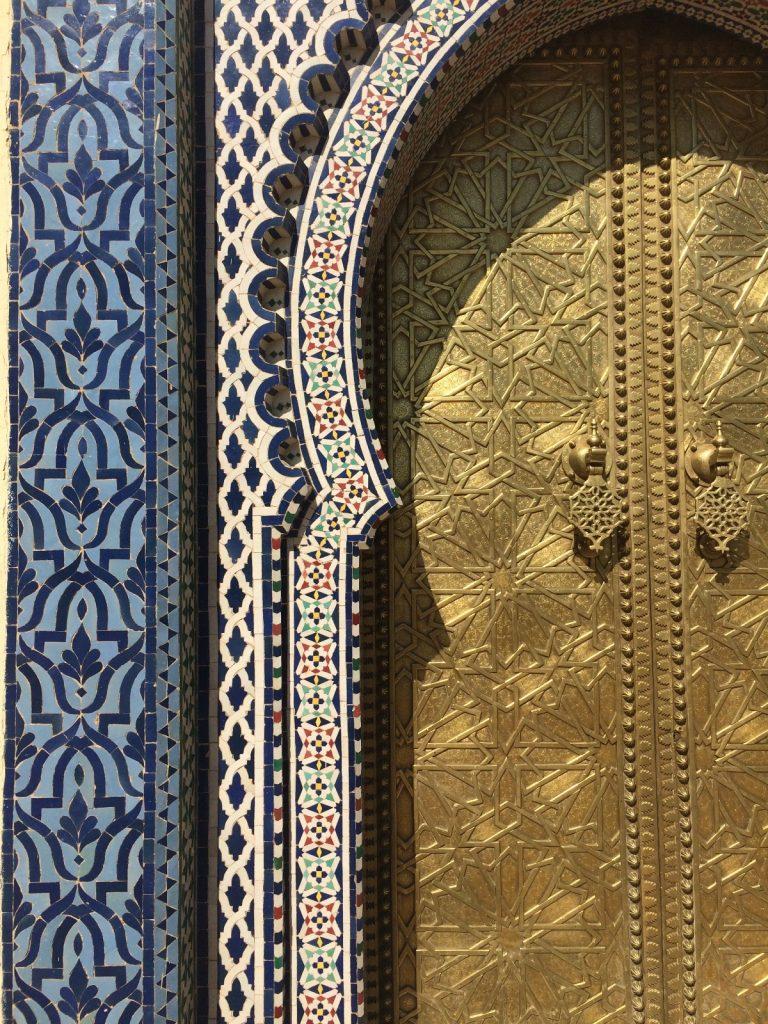les-exploratrices-maroc-fes-palais-royal-porte-detail