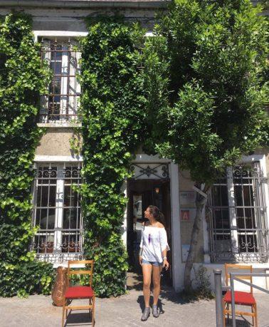 les maisons végétalisées des puces de saint-ouen