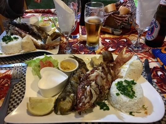 restaurant de fruits de mer à Moorea