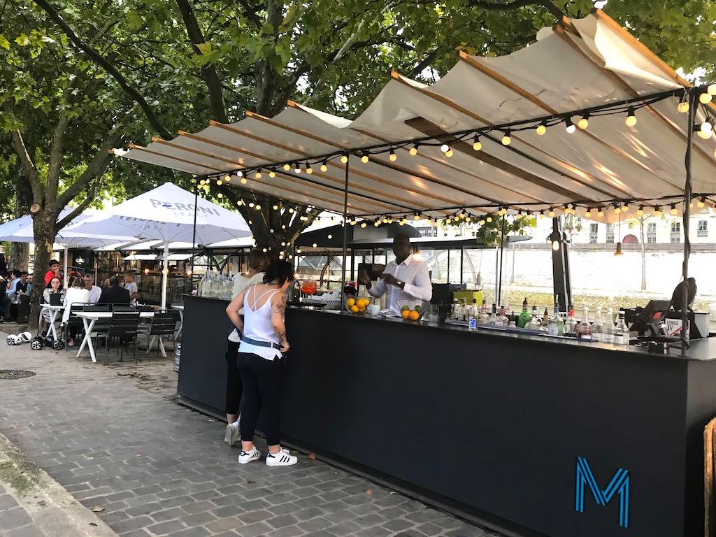 les maquereaux et le sea food bar