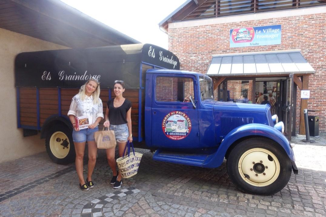 visite à la fromagerie graindorge pour un weekend original en normandie