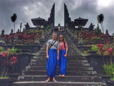 parmi les visites incontournables à bali il y a le besakih temple