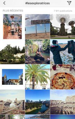 comment rejoindre les exploratrices ? en nous taguant sur instagram