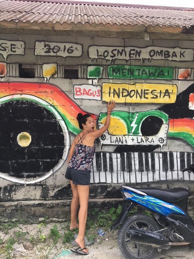 partir en surftrip en Indonésie et visiter katiet