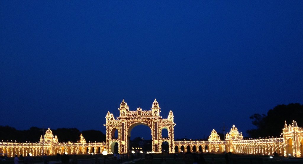 voyager seule en inde du sud et aller au palais de mysore