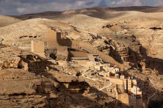 photo 4 monastère mar saba