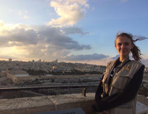 charlotte a été témoin de paix en israel et palestine