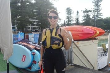 australie-bonnes-adresses-a-sydney-manly-beach-kayak-fanny-combinaison