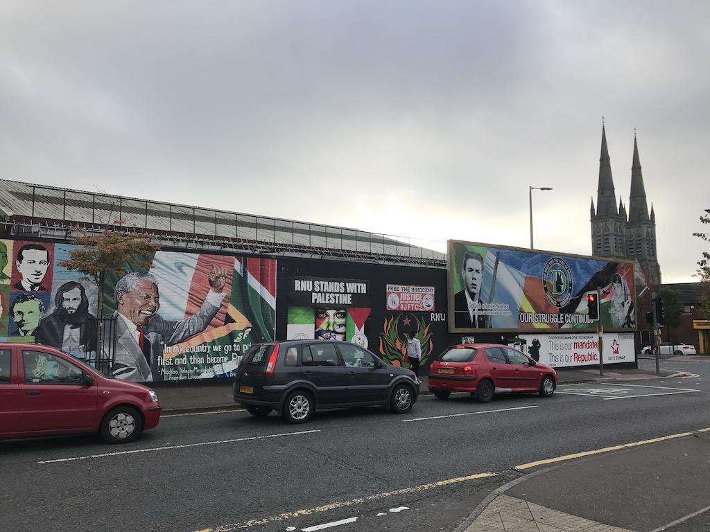 Belfast-wall