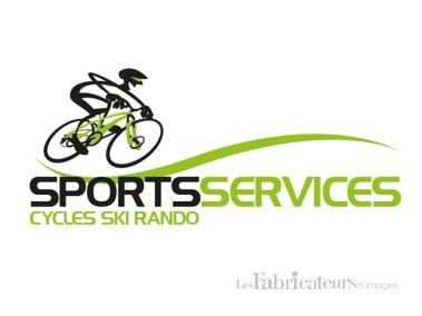 Création logo Sport Services - Les Fabricateurs d'images