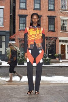 GIVENCHY PRE-FALL 2014 - LOOK4