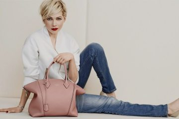 LOUIS VUITTON HANDBAG CAMPAIGN FEATURING MICHELLE WILLIAMS