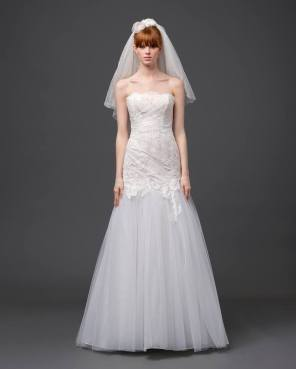 ALBERTA FERRETTI SPRING 2015 BRIDAL - LOOK 8