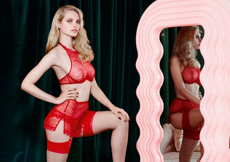 AGENT PROVOCATEUR FALL 2014 COLLECTION 1
