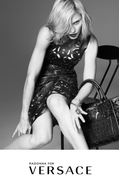 VERSACE SPRING 2015 AD CAMPAIGN FEATURING MADONNA 1