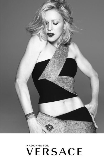 VERSACE SPRING 2015 AD CAMPAIGN FEATURING MADONNA 2