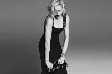VERSACE SPRING 2015 AD CAMPAIGN FEATURING MADONNA2