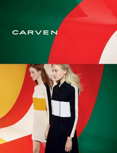 CARVEN SPRING 2015 AD CAMPAIGN 1