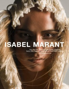 ISABEL MARANT SPRING 2015 AD CAMPAIGN 1