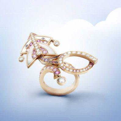 VAN CLEEF & ARPELS CERFS-VOLANTS JEWELRY COLLECTION 14