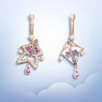 VAN CLEEF & ARPELS CERFS-VOLANTS JEWELRY COLLECTION 15